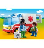 PLAYMOBIL 1.2.3 9122 AMBULANCE