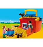 PLAYMOBIL 1.2.3 9123 ETAL DE MARCHE TRANSPORTABLE
