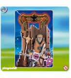 PLAYMOBIL CHEVALIERS 4774 CITADELLE DES BARBARES TRANSPORTABLE