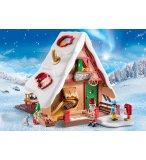 PLAYMOBIL CHRISTMAS 9493 ATELIER DE BISCUIT DU PERE NOEL AVEC MOULES