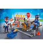 PLAYMOBIL CITY ACTION 6924 BARRAGE DE POLICE