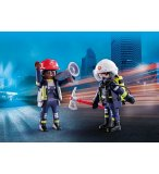 PLAYMOBIL CITY ACTION 70081 DUO PACK POMPIERS SECOURISTES