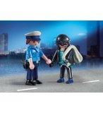 PLAYMOBIL CITY ACTION 9218 DUO PACK POLICIER ET VOLEUR