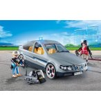 PLAYMOBIL CITY ACTION 9361 VOITURE BANALISEE AVEC POLICIERS EN CIVIL