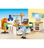 PLAYMOBIL CITY HOPITAL 70197 CABINET D'OPHTALMOLOGIE
