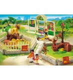 PLAYMOBIL CITY LIFE 5969 ZOO AVEC ANIMAUX SAUVAGES