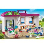 PLAYMOBIL CITY LIFE 70146 CLINIQUE VETERINAIRE TRANSPORTABLE