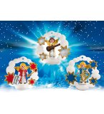 PLAYMOBIL NOEL 5591 DECORATIONS DE NOEL ANGES