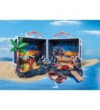 PLAYMOBIL PIRATES 5347 ILE AU TRESOR DES PIRATES TRANSPORTABLE