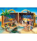 PLAYMOBIL PIRATES 70150 COFFRE DES PIRATES TRANSPORTABLE