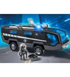 PLAYMOBIL POLICE CITY ACTION 5564 VEHICULE D'INTERVENTION DES FORCES SPECIALES