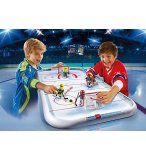 PLAYMOBIL SPORTS & ACTION 5594 PATINOIRE HOCKEY SUR GLACE