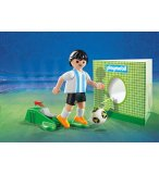 PLAYMOBIL SPORTS & ACTION 9508 JOUEUR DE FOOT ARGENTIN FIFA 2018