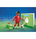 PLAYMOBIL SPORTS & ACTION 9509 JOUEUR DE FOOT BELGE FIFA 2018