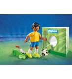 PLAYMOBIL SPORTS & ACTION 9510 JOUEUR DE FOOT BRESILIEN FIFA 2018