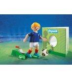 PLAYMOBIL SPORTS & ACTION 9513 JOUEUR DE FOOT FRANCAIS FIFA 2018