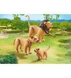 PLAYMOBIL ZOO 6642 FAMILLE DE LIONS