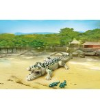 PLAYMOBIL ZOO 6644 ALLIGATOR AVEC BEBES