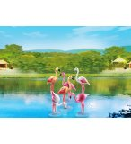 PLAYMOBIL ZOO 6651 GROUPE DE FLAMANTS ROSES