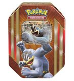 POKEBOX MACKOGNEUR - CARTE A COLLECTIONNER POKEMON - BOITE METAL ROUGE