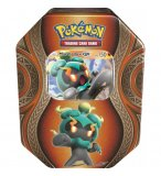POKEBOX MARSHADOW GX - CARTE A COLLECTIONNER POKEMON - BOITE METAL ORANGE
