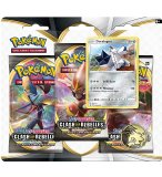 POKEMON EPEE ET BOUCLIER - COFFRET TRI PACK DURALUGON - 3 BOOSTERS - CARTE A COLLECTIONNER - ASMODEE