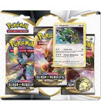 POKEMON EPEE ET BOUCLIER - COFFRET TRI PACK RAYQUAZA - 3 BOOSTERS - CARTE A COLLECTIONNER - ASMODEE
