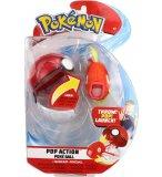 POKEMON POP ACTION : MAGICARPE ET SA POKE BALL - POKEBALL - FIGURINE ET POKE BALL - TOMY 95113