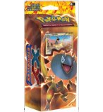 POKEMON X et Y ETINCELLES DECK TONNERRE BRILLANT - STARTER - ASMODEE - CARTES A COLLECTIONNER VERSION ALLEMANDE