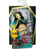 POUPEE MONSTER HIGH FRIENDLY AILEES : BEETRICE L ABEILLE AVEC CREATURE JAUNE DU JARDIN - MATTEL - FCV49