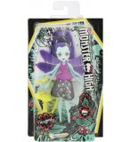 POUPEE MONSTER HIGH FRIENDLY AILEES : WINGRID LA LIBELLULE AVEC CREATURE JAUNE DU JARDIN - MATTEL - FCV48
