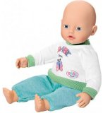 POUPON MY LITTLE BABY BORN BASIQUE VERT 32 CM - ZAPF CREATION