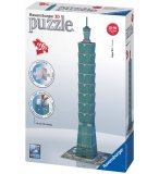 PUZZLE 3D BULDING / TAIPEI 101 - 216 PIECES - RAVENSBURGER - 125586