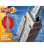 PUZZLE 3D EMPIRE STATE BUILDING 300 PIECES - MB PUZZ3D - PUZ-5541-1