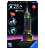 PUZZLE 3D EMPIRE STATE BUILDING NIGHT EDITION 216 PIECES - RAVENSBURGER - 12566