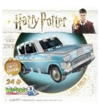 PUZZLE 3D HARRY POTTER FORD ANGLIA 24 PIECES - PUZZLE WREBBIT - EDITION COLLECTOR