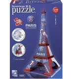 PUZZLE 3D TOUR EIFFEL PSG 216 PIECES - RAVENSBURGER - 12560