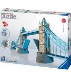 PUZZLE 3D TOWER BRIDGE : PONT DE LONDRES 216 PIECES - RAVENSBURGER - 12559