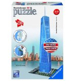 PUZZLE 3D WORLD TRADE CENTER BUILDING ONE 216 PIECES - RAVENSBURGER - 125623
