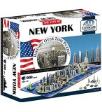 PUZZLE 4D VILLE DE NEW YORK 900 PIECES - CITYSCAPE - 40010