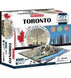 PUZZLE 4D VILLE DE TOROTO 1100 PIECES - CANADA - CITYSCAPE - 40016