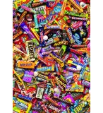 PUZZLE BARRES CHOCOLATEES 500 PIECES - COLLECTION BONBON - EDUCA - 15513