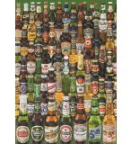 PUZZLE BIERES 1000 PIECES - COLLECTION ALCOOL - EDUCA - 12736