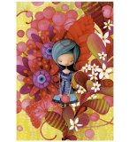 PUZZLE BLUE LADY - 1000 PIECES - COLLECTION KETTO - EDUCA - 16762