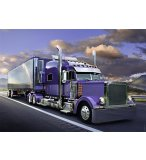 PUZZLE CAMION AMERICAIN / AMERICAN TRUCK - 1500 PIECES COLLECTION ION - NATHAN - 877829