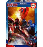 PUZZLE CAPTAIN AMERICA GUERRE CIVILE 200 PIECES - EDUCA - 16699