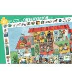 PUZZLE D'OBSERVATION LA MAISON 35 PIECES - DJECO - DJ07594