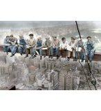 PUZZLE DEJEUNER A NEW YORK 1500 PIECES - COLLECTION NOIR ET BLANC - EDUCA - 16009