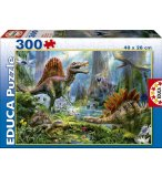 PUZZLE DINOSAURES 300 PIECES - EDUCA - 16366