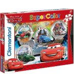 PUZZLE DISNEY CARS - 104 PIECES - PUZZLE SUPER COLOR - CLEMENTONI - 27857